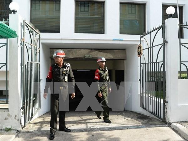 Suspende Tailandia juicio contra sospechosos de ataque en Erawan hinh anh 1