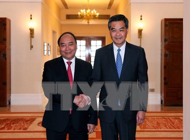 Premier de Vietnam concluye visita oficial a China hinh anh 2
