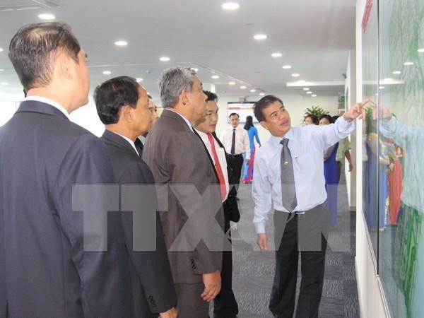 Espera Laos mas inversiones vietnamitas en el pais hinh anh 1