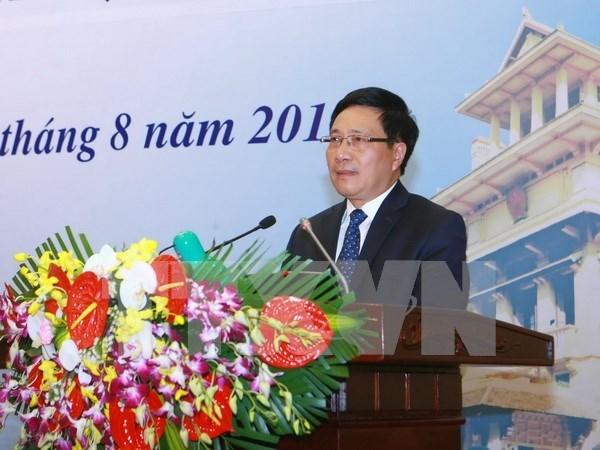 Vicepremier de Vietnam llega a Venezuela para participar en Cumbre del MNOAL hinh anh 1