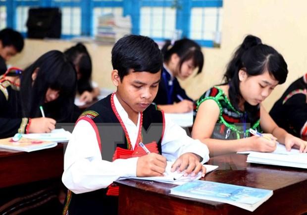 Vietnam amplia la educacion bilingue basada en lengua materna hinh anh 1