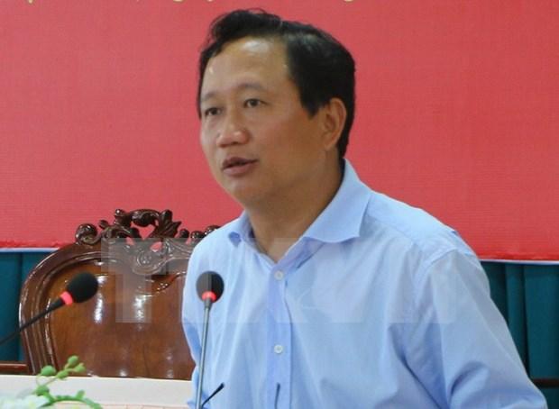 Anuncian decision de expulsar a Trinh Xuan Thanh del Partido Comunista de Vietnam hinh anh 1