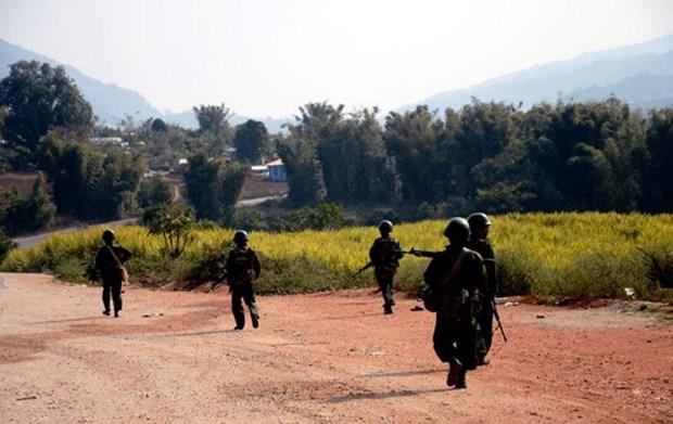 Ejercito de Myanmar refuerza seguridad en Kokang hinh anh 1