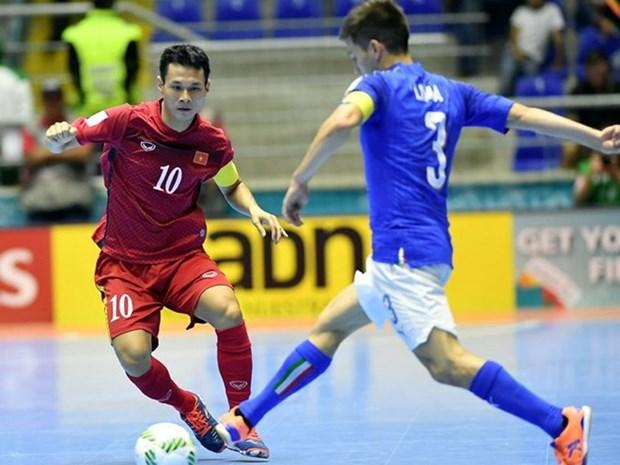 Vietnam avanza a octavos de final en Copa Mundial de futsal hinh anh 1