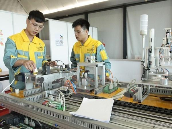 Vietnam participa en concurso de habilidades profesionales de ASEAN hinh anh 1