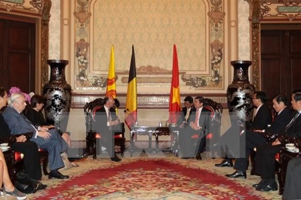 Fomentan cooperacion entre region Valonia-Bruselas y Ciudad Ho Chi Minh hinh anh 1