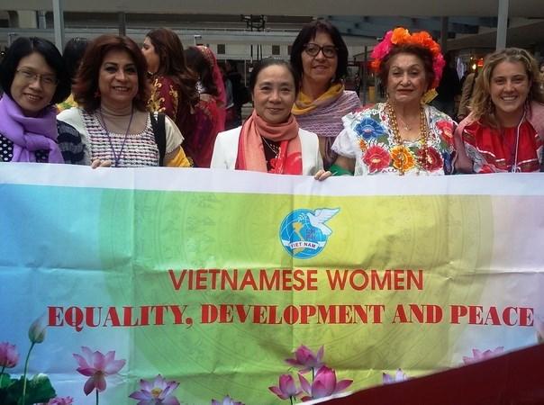Vietnam asiste a congreso de Federacion Democratica Internacional de Mujeres hinh anh 1