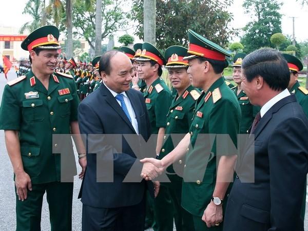 Premier vietnamita: Defensa – seguridad es condicion para progreso socioeconomico hinh anh 1