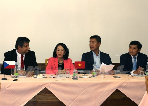 Dirigente partidista de Vietnam efectuo visita de trabajo a Republica Checa hinh anh 1