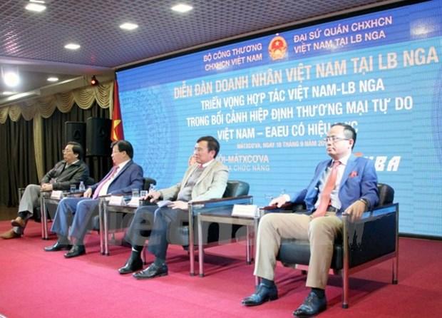 Foro de negocios destaca las perspectivas de cooperacion Vietnam- Rusia hinh anh 1
