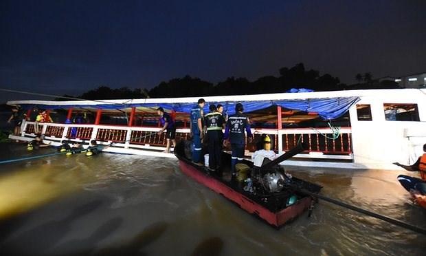 Tailandia eleva a 29 numero de muertos en accidente de barco hinh anh 1