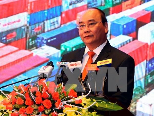 Premier exhorta a una mayor inversion en Hai Phong hinh anh 1