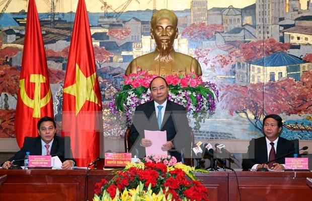 Premier urge a Hai Phong convertirse en ciudad ideal para vivir hinh anh 1