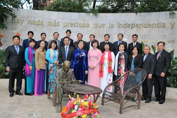 Ciudad de Mexico y Ciudad Ho Chi Minh fomentan nexos cooperativos hinh anh 3