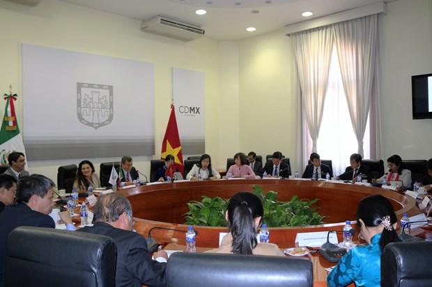 Ciudad de Mexico y Ciudad Ho Chi Minh fomentan nexos cooperativos hinh anh 2