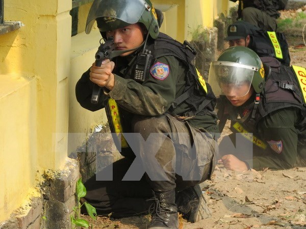 Realizan Vietnam y China maniobra antiterrorista transfronteriza hinh anh 1