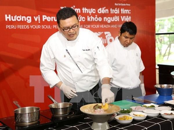 Exponen cultura y gastronomia peruana en Vietnam hinh anh 1