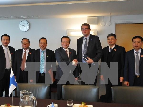 Fortalecen nexos parlamentarios entre Vietnam y Finlandia hinh anh 1