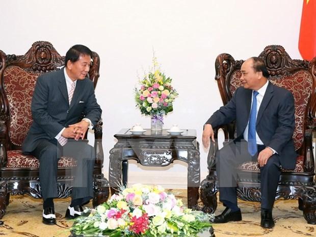 Vietnam y Japon fomentan amistad bilateral hinh anh 1