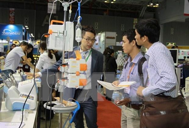 Inauguran en Vietnam oncena Exposicion Internacional de Medicacion hinh anh 1