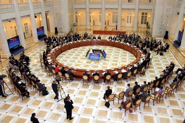 Efectuan XIX reunion del Comite Intergubernamental Vietnam-Rusia hinh anh 1
