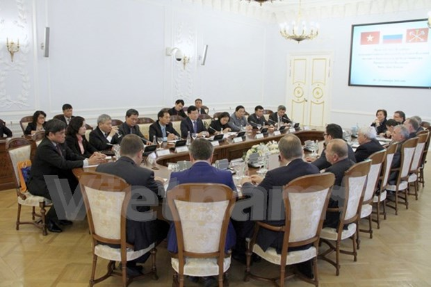 TLC beneficiara nexos de comercio e inversion entre Vietnam y Rusia hinh anh 1