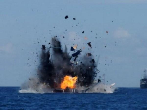 Indonesia y Estados Unidos planean patrullaje conjunto en mar hinh anh 1