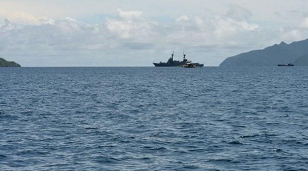 Detiene Indonesia barco malasio cargado de materiales sospechosos hinh anh 1