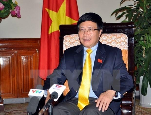 Intensa agenda de vicepremier de Vietnam al margen de Asamblea General de ONU hinh anh 1