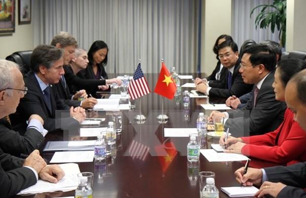 Buscan Vietnam y Estados Unidos aumentar cooperacion al desarrollo hinh anh 1