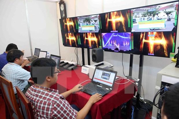 Inauguran centro de comunicaciones de Juegos Asiaticos de Playa en Vietnam hinh anh 1