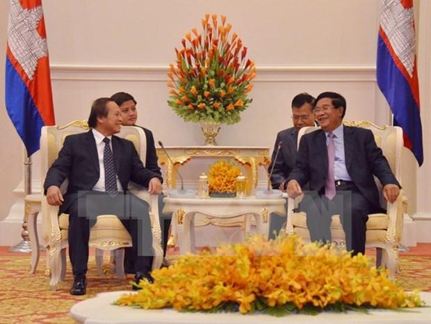 Vietnam y Camboya incrementan cooperacion en comunicacion hinh anh 1