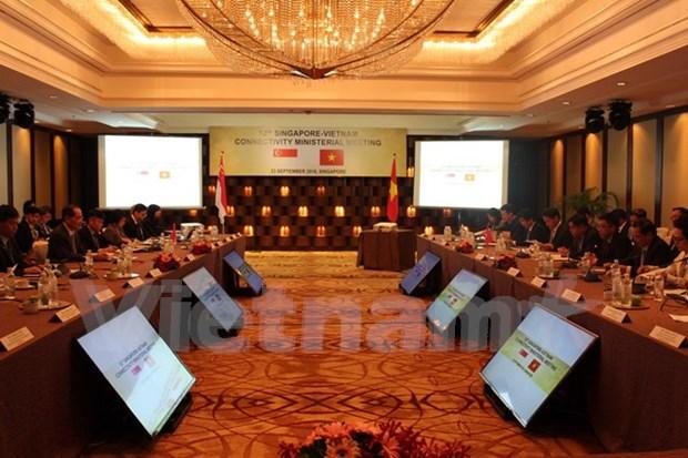 Vietnam y Singapur debaten medidas para aumentar conexion economica hinh anh 1