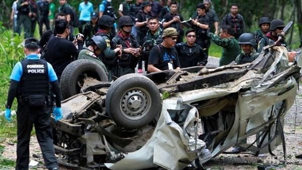 Tres policias muertos por explosion en sur de Tailandia hinh anh 1