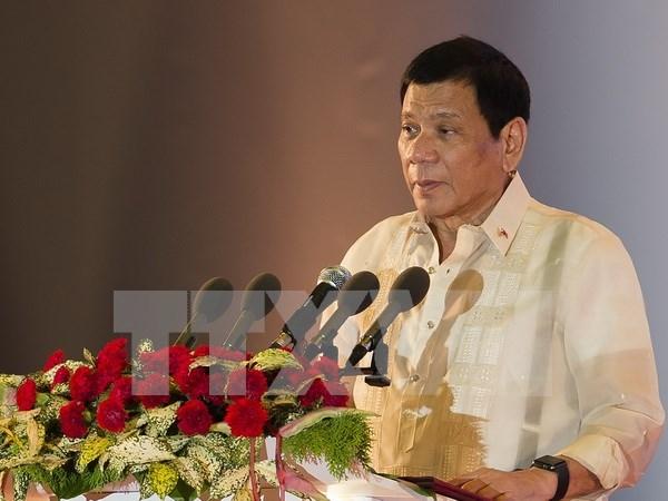 Presidente de Filipinas visitara Vietnam hinh anh 1