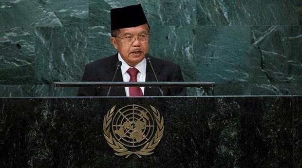 Indonesia declara candidatura a miembro no permanente de Consejo de Seguridad de ONU hinh anh 1