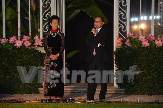 """Presentan en Francia el proyecto """"Casa vietnamita"""" hinh anh 1"""