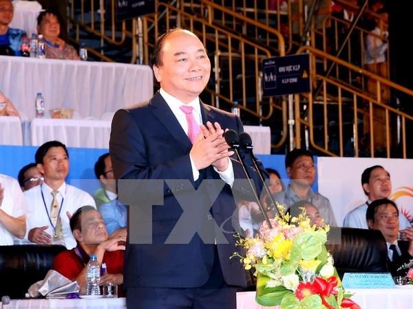 Inauguran juegos asiaticos de playa en Da Nang hinh anh 1