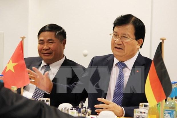 Pretende Vietnam impulsar asociacion estrategica con Alemania hinh anh 1