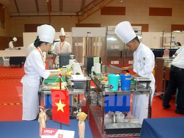 Asiste Vietnam al concurso de habilidades profesionales de ASEAN hinh anh 1