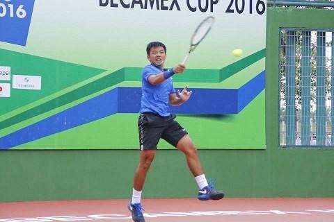 Gana Ly Hoang Nam doble titulo en campeonato internacional de tenis hinh anh 1