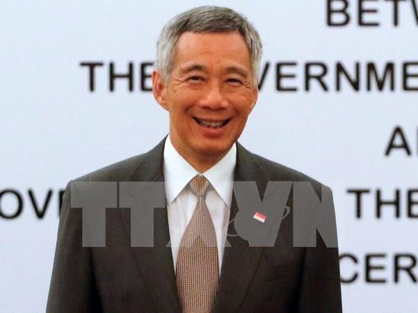 Primer ministro de Singapur inicia visita a Japon hinh anh 1