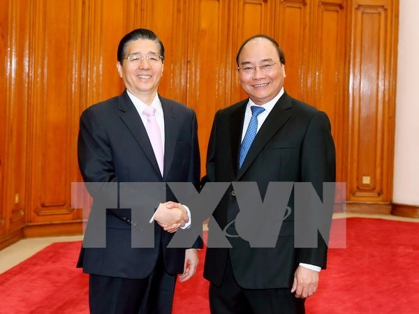Premier de Vietnam recibe a ministro de Seguridad Publica de China hinh anh 1
