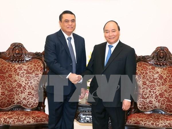 Premier de Vietnam recibe al subcomandante de Policia de Indonesia hinh anh 1