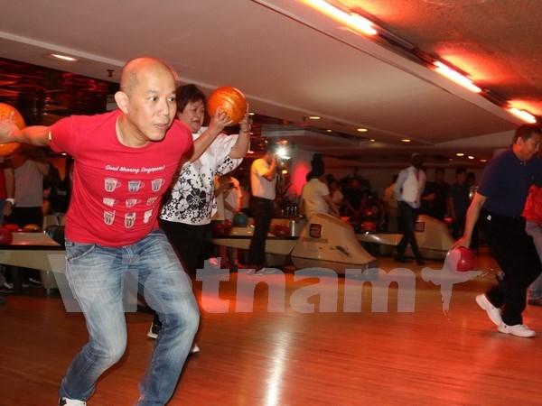 Efectuan en Ginebra Festival de Deportes y Familia de ASEAN hinh anh 1