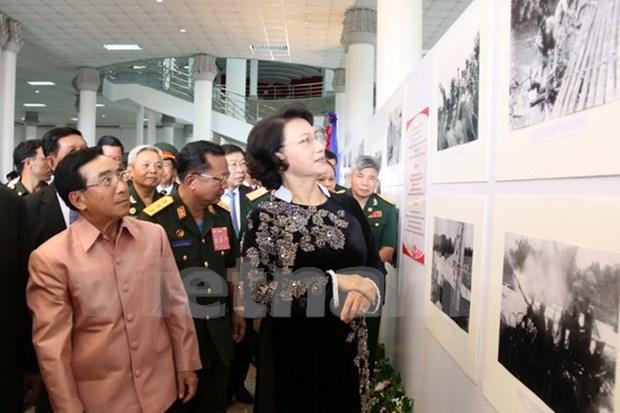Abierta en Laos exposicion sobre legendario Sendero Ho Chi Minh hinh anh 1
