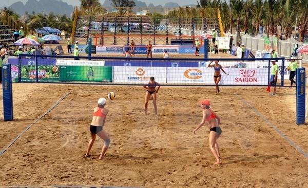 Suma Vietnam nueve medallas de oro en Juegos Asiaticos de Playa hinh anh 1