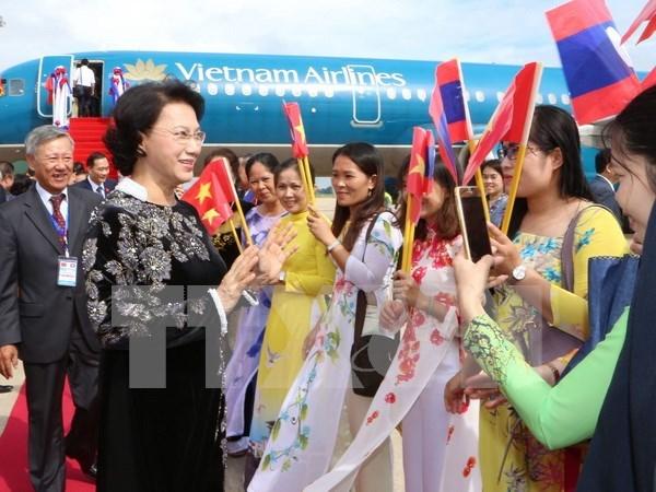 Vietnam y Laos enfatizan necesidad de cooperar en investigacion teorico–practica hinh anh 1