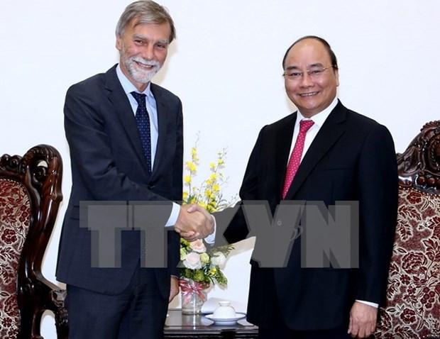 Vietnam e Italia colaboran en infraestructura y transporte hinh anh 1