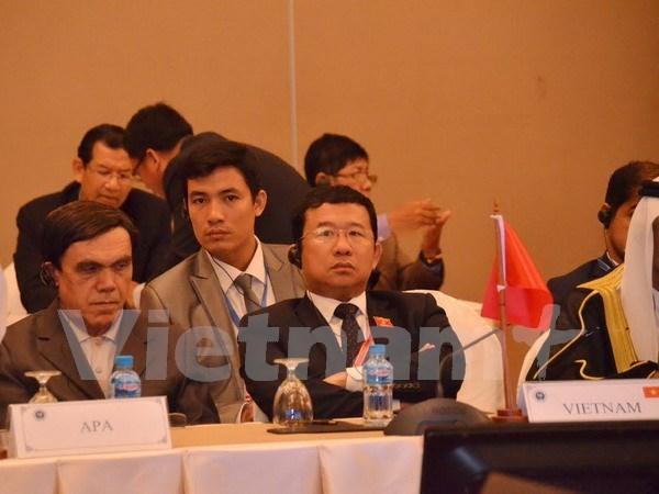 Vietnam participa en conferencias interparlamentarias de Asia en Camboya hinh anh 1